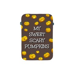 Scary Sweet Funny Cute Pumpkins Hallowen Ecard Apple Ipad Mini Protective Soft Cases by Amaryn4rt