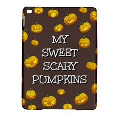 Scary Sweet Funny Cute Pumpkins Hallowen Ecard Ipad Air 2 Hardshell Cases by Amaryn4rt