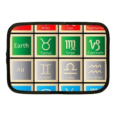 Set Of The Twelve Signs Of The Zodiac Astrology Birth Symbols Netbook Case (medium)