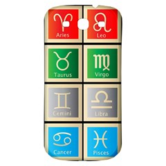 Set Of The Twelve Signs Of The Zodiac Astrology Birth Symbols Samsung Galaxy S3 S Iii Classic Hardshell Back Case by Amaryn4rt