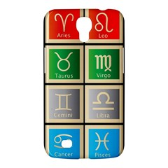 Set Of The Twelve Signs Of The Zodiac Astrology Birth Symbols Samsung Galaxy Mega 6 3  I9200 Hardshell Case by Amaryn4rt
