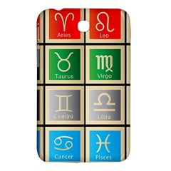 Set Of The Twelve Signs Of The Zodiac Astrology Birth Symbols Samsung Galaxy Tab 3 (7 ) P3200 Hardshell Case  by Amaryn4rt