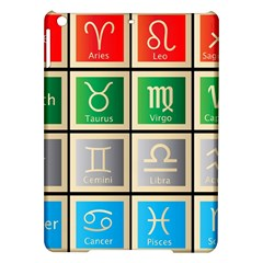 Set Of The Twelve Signs Of The Zodiac Astrology Birth Symbols Ipad Air Hardshell Cases by Amaryn4rt