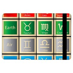 Set Of The Twelve Signs Of The Zodiac Astrology Birth Symbols Ipad Air Flip by Amaryn4rt