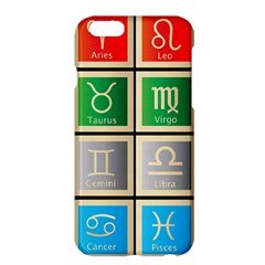 Set Of The Twelve Signs Of The Zodiac Astrology Birth Symbols Apple Iphone 6 Plus/6s Plus Hardshell Case by Amaryn4rt