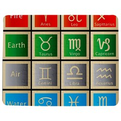 Set Of The Twelve Signs Of The Zodiac Astrology Birth Symbols Jigsaw Puzzle Photo Stand (rectangular) by Amaryn4rt