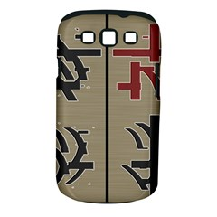 Xia Script On Gray Background Samsung Galaxy S Iii Classic Hardshell Case (pc+silicone) by Amaryn4rt