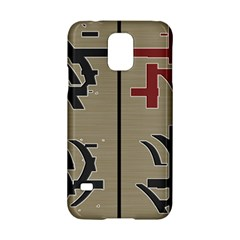 Xia Script On Gray Background Samsung Galaxy S5 Hardshell Case  by Amaryn4rt