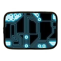 A Completely Seamless Background Design Circuitry Netbook Case (medium)  by Amaryn4rt