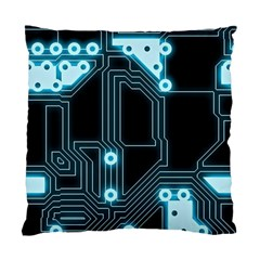 A Completely Seamless Background Design Circuitry Standard Cushion Case (one Side) by Amaryn4rt