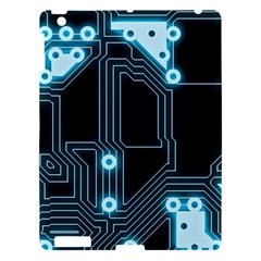 A Completely Seamless Background Design Circuitry Apple Ipad 3/4 Hardshell Case by Amaryn4rt