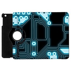 A Completely Seamless Background Design Circuitry Apple Ipad Mini Flip 360 Case by Amaryn4rt