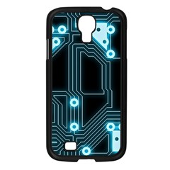 A Completely Seamless Background Design Circuitry Samsung Galaxy S4 I9500/ I9505 Case (black) by Amaryn4rt