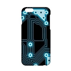 A Completely Seamless Background Design Circuitry Apple Iphone 6/6s Hardshell Case by Amaryn4rt