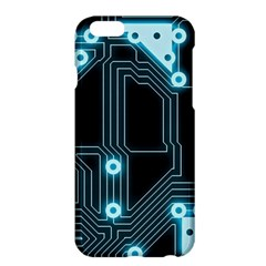 A Completely Seamless Background Design Circuitry Apple Iphone 6 Plus/6s Plus Hardshell Case by Amaryn4rt