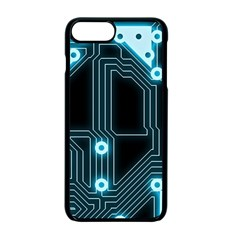 A Completely Seamless Background Design Circuitry Apple Iphone 7 Plus Seamless Case (black) by Amaryn4rt