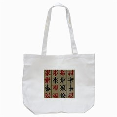 Ancient Chinese Secrets Characters Tote Bag (white) by Amaryn4rt