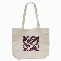Many Cats Silhouettes Texture Tote Bag (cream) by Amaryn4rt
