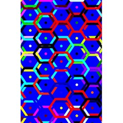 Blue Bee Hive Pattern 5 5  X 8 5  Notebooks by Amaryn4rt