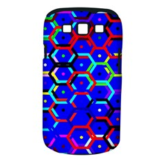 Blue Bee Hive Pattern Samsung Galaxy S Iii Classic Hardshell Case (pc+silicone) by Amaryn4rt