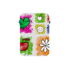 A Set Of Watercolour Icons Apple Ipad Mini Protective Soft Cases by Amaryn4rt