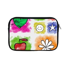 A Set Of Watercolour Icons Apple Ipad Mini Zipper Cases by Amaryn4rt