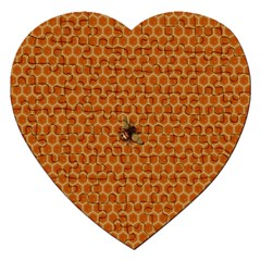 The Lonely Bee Jigsaw Puzzle (heart) by Amaryn4rt
