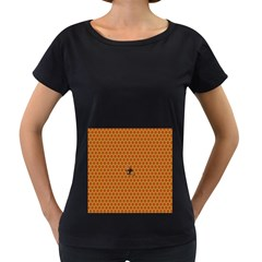 The Lonely Bee Women s Loose Fit T Shirt (black) by Amaryn4rt