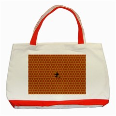 The Lonely Bee Classic Tote Bag (red) by Amaryn4rt
