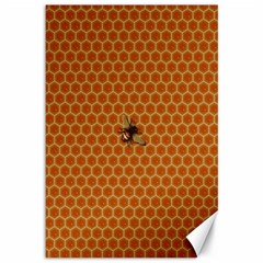 The Lonely Bee Canvas 12  X 18   by Amaryn4rt