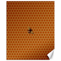 The Lonely Bee Canvas 16  X 20   by Amaryn4rt