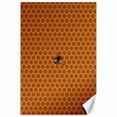 The Lonely Bee Canvas 24  X 36  by Amaryn4rt