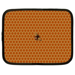 The Lonely Bee Netbook Case (large) by Amaryn4rt
