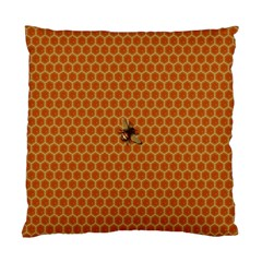 The Lonely Bee Standard Cushion Case (one Side) by Amaryn4rt