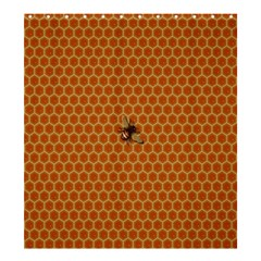 The Lonely Bee Shower Curtain 66  X 72  (large)  by Amaryn4rt