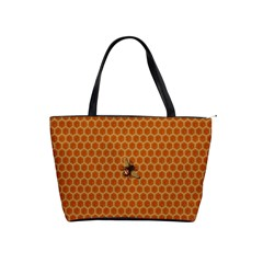 The Lonely Bee Shoulder Handbags by Amaryn4rt
