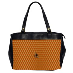 The Lonely Bee Office Handbags (2 Sides)  by Amaryn4rt