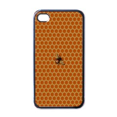 The Lonely Bee Apple Iphone 4 Case (black) by Amaryn4rt