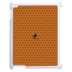 The Lonely Bee Apple Ipad 2 Case (white) by Amaryn4rt