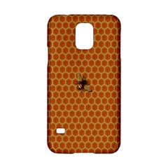 The Lonely Bee Samsung Galaxy S5 Hardshell Case  by Amaryn4rt