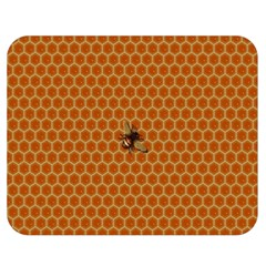 The Lonely Bee Double Sided Flano Blanket (medium)  by Amaryn4rt