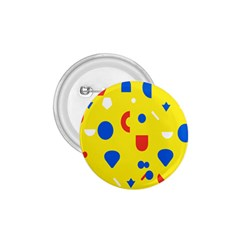 Circle Triangle Red Blue Yellow White Sign 1 75  Buttons by Alisyart