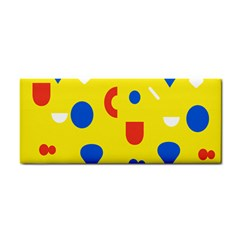 Circle Triangle Red Blue Yellow White Sign Cosmetic Storage Cases by Alisyart