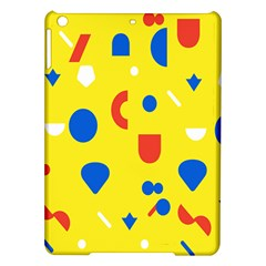 Circle Triangle Red Blue Yellow White Sign Ipad Air Hardshell Cases by Alisyart