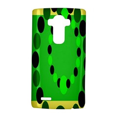 Circular Dot Selections Green Yellow Black Lg G4 Hardshell Case by Alisyart