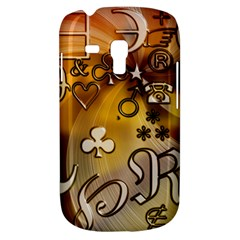Symbols On Gradient Background Embossed Galaxy S3 Mini by Amaryn4rt