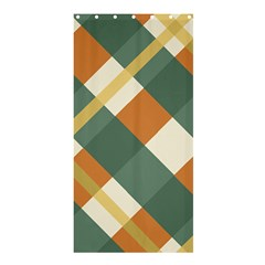 Autumn Plaid Shower Curtain 36  X 72  (stall)  by Alisyart