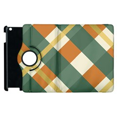 Autumn Plaid Apple Ipad 2 Flip 360 Case by Alisyart