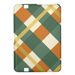 Autumn Plaid Kindle Fire Hd 8 9  by Alisyart