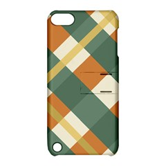 Autumn Plaid Apple Ipod Touch 5 Hardshell Case With Stand by Alisyart